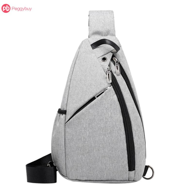 Frank Aelicy Men Summer Waterproof Oxford Chest Messenger Bag Quality Traveling Crossbody Casual Handbags Bags Sport Phone Bag New Engagement & Wedding