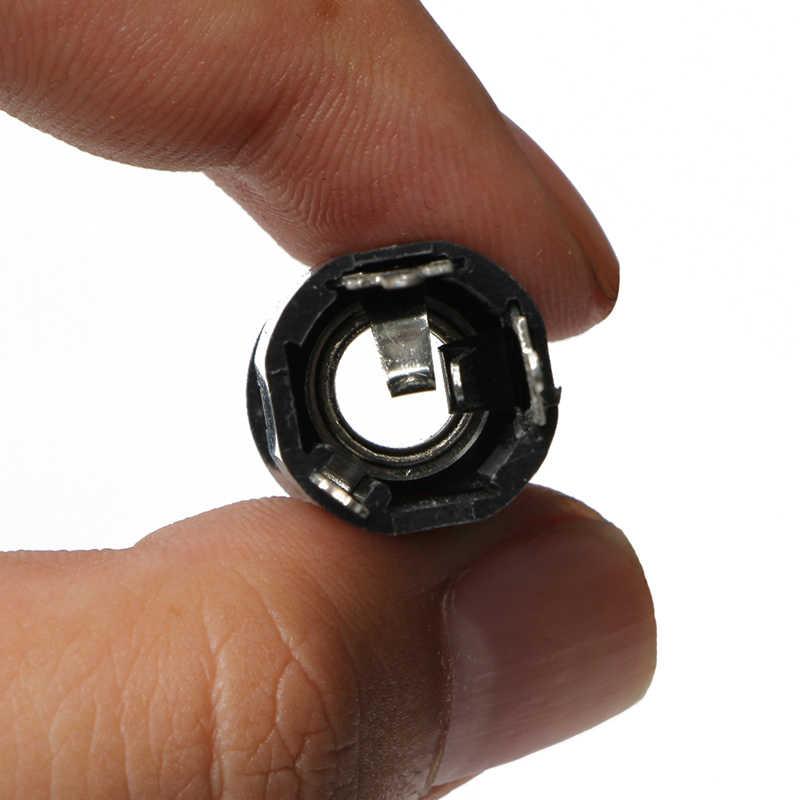 新 1pc ブラックエンドピン · ジャック 6.35 入力どんなギター eq ピックアップ出力