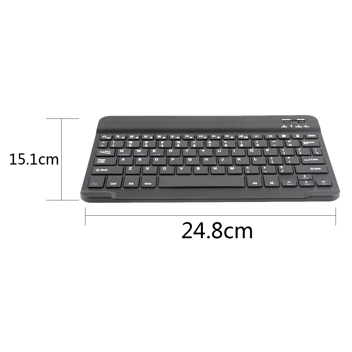 RS Bluetooth Wireless Keyboard Universal 10-inch iPad for Galaxy Tabs IOS Android Tablet/Desktop/Laptop Mini Bluetooth Wireless Karachi