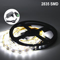 Not Waterproof DC12V LED Strip 5M 300LED 2835SMD Fita LED Light Flexible Neon Ledstrip Add 2A Power Adapter Christmas Decoration