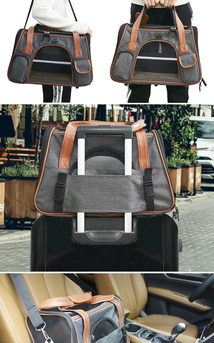 Breathable K9 Dog Backpack Carrier 14