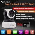 VStarcam C7824WIP HD 720 P Беспроводная Ip-камера Wi-Fi Onvif Видеонаблюдения CCTV Безопасности Сети Wi-Fi Камера Бесплатно Отправить 8 ГБ Карты