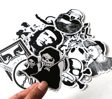 100 pcs Sticker Black and White Skateboard Suitcase Vinyl Decal Luggage Fridge Motorcycle Laptop Toy Styling Cool DIY Sticker
