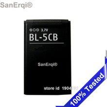 BL-5CB For nokia 1616 1800 Battery BL 5CB  mobile phone High Quality SanErqi