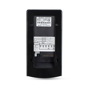 Image 3 - Проводной Водонепроницаемый видеодомофон, система наружной камеры, светодиодный светильник с защитой от дождя и RFID брелоками