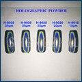 100g Holographic Powder LASER MIRROR POWDER Chrome Rainbow Glitter Nail Polish Pigment Laser Powder Sequins Nail Unicorn Powder