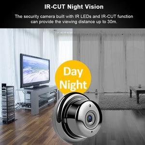 Image 2 - Gran oferta 1080P Monitor de bebé cámara IP de seguridad Wi Fi inalámbrica red CCTV Mini cámara de vigilancia P2P cámara de visión nocturna