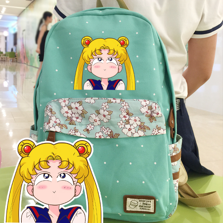 Anime Sailor Moon Cosplay Sailor Moon Cos Anime Campus Student Cute Backpacker Birthday Gift цена