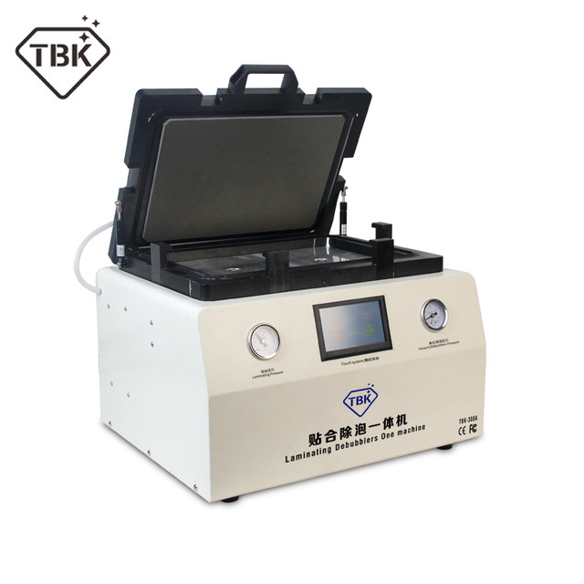 TBK-308A 15 Inch LCD Touch Screen Repair Automatic Bubble Removing Machine OCA Vacuum Laminating Machine with automatic lock gas new tbk 608 automatic oca vacuum laminating with bubble removing machine for lcd touch screen repair