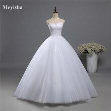 ZJ9022 2019 fashion Beads sequins White Ivory Wedding Dress for brides plus size formal sweetheart 2-16W/18W/20W/22W/24W/26W/28W