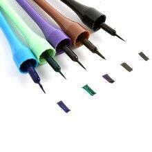 Горячая разноцветная декоративная косметика карандаш Карандаш для глаз макияж жидкая подводка для глаз Длинные для водонепроницаемости