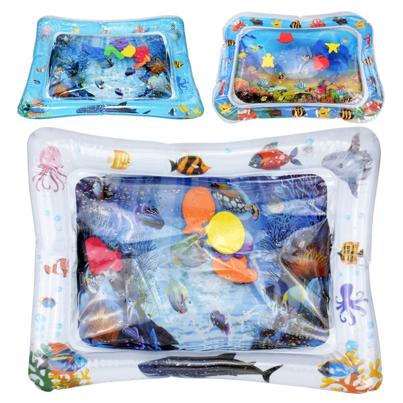 Baby Inflatable Water filled Cushion kids rug Toys For children baby play mats toy Water Fun For summer Gift