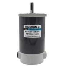 300W DC motor 12V24V high speed speed regulating motor 3000 turn positive and negative large torque motor