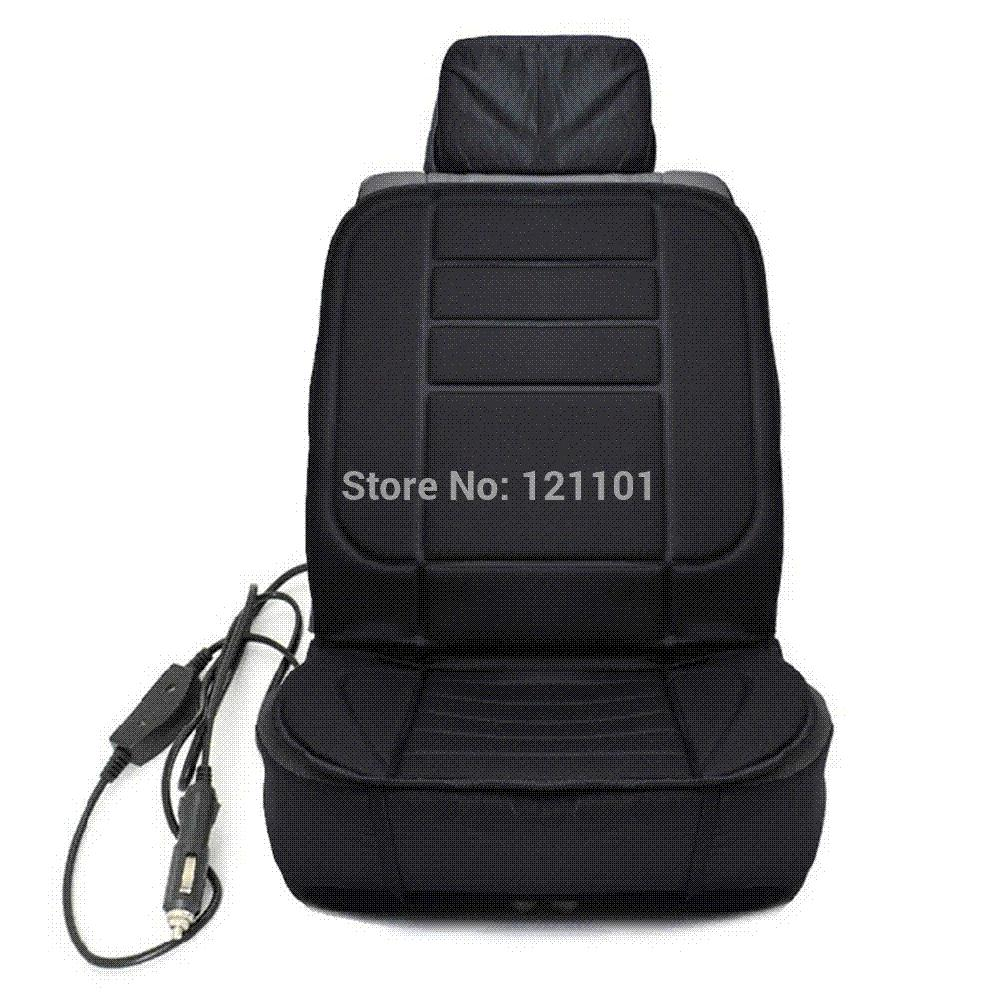 ФОТО The new 2017 body massage waist winter car MATS car seat cushion electric heating pad is generally in combination with black