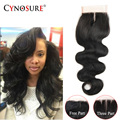 6A Peruvian Lace Closure Unprocessed Peruvian Virgin Hair Closure Body Wave 100% Human Hair Extensions Peruvian Hair  Body Wave