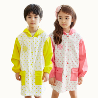 Children Waterproof Raincoat Poncho Girl Kids Rain Coat Boy Pluie Cape Raindonnee Cloaks For Women Raincoat For Children QQG250