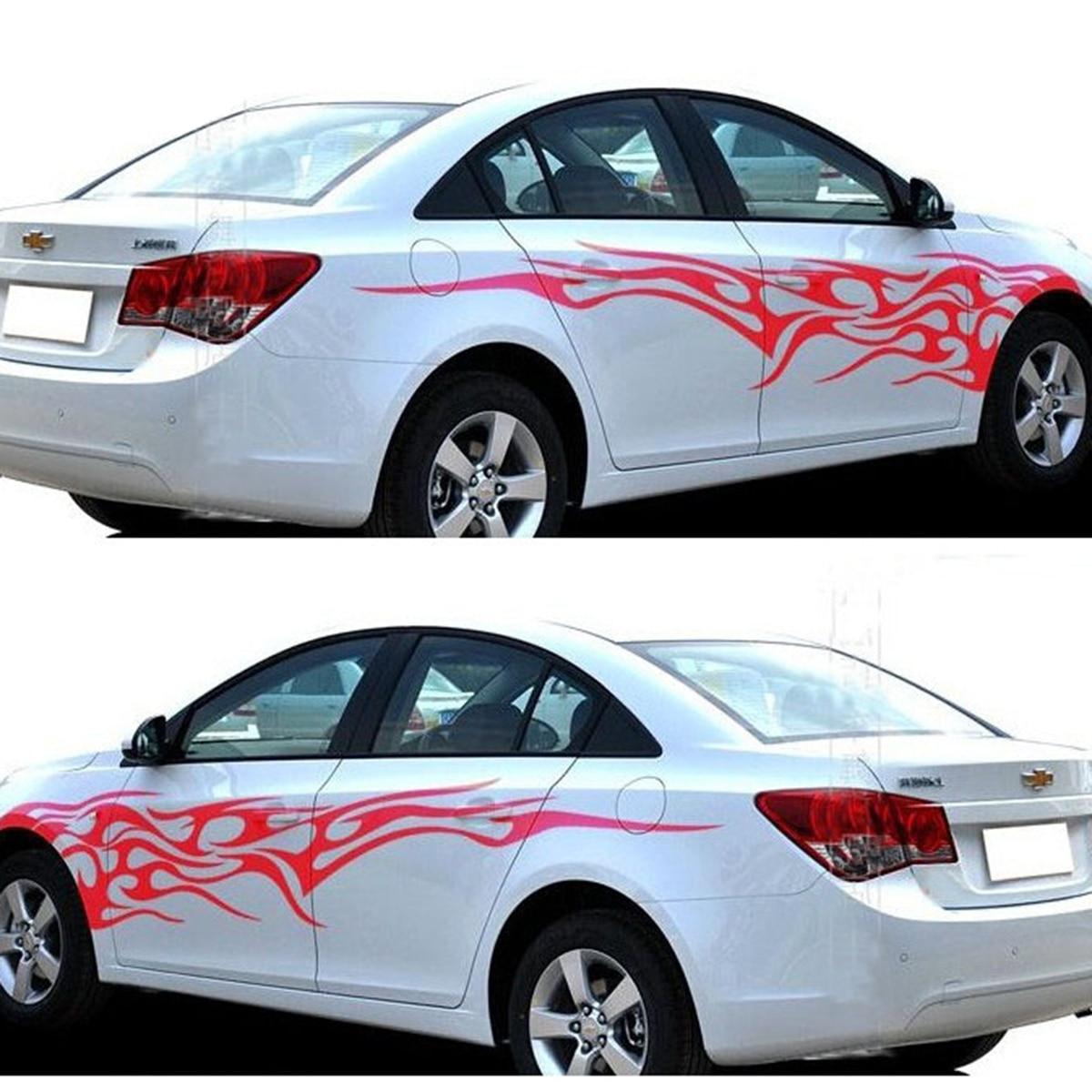 Car full body sticker design - Tribal Flames Graphics Vinyl Tattoos Car Truck Decal Vinyl Graphics Body Vinyl Stickers
