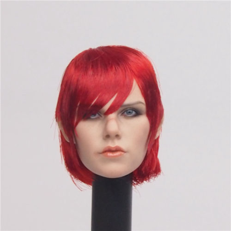1/6 Scale PL2016-94 Painkiller Jane Womens Head Sculpt For 12'' Female Figures Bodies Dolls Red Hair