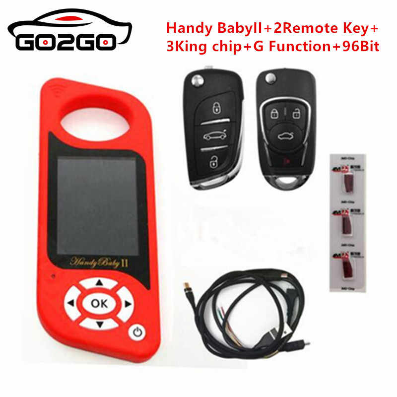 JMD Handy Baby II Auto Key Tool for 4D/46/48/G Chips