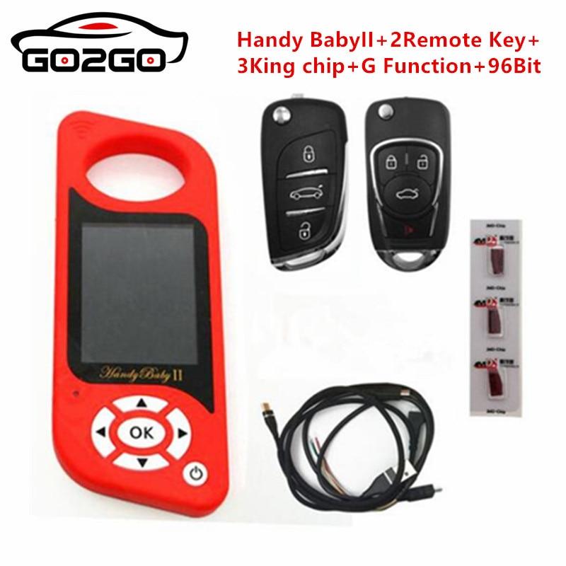 JMD Handy Baby II прибор для программирования автомобильных ключей для 4D/46/48/G чипы программист Handy Baby 2 английский/испанский язык в наличии
