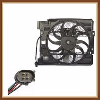 New AC A/C Condenser Cooling Fan Assembly fits for BMW E39 528i 540i M5 1995 1998 64548380780 4 pieces / lot Fans & Kits Automobiles & Motorcycles -