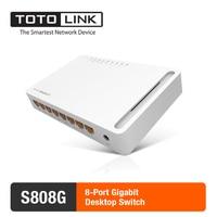 TOTOLINK S808G 8 Port Switch 10 100 1000Mbps Gigabit Desktop Switch