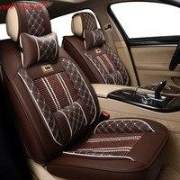 Автомобильные ветряные универсальные кожаные автомобильные чехлы на сиденья для hyundai creta kia sportage 3 mazda 3 ssangyong автомобильные аксессуары