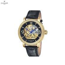 Наручные часы Earnshaw ES-8011-03 мужские механические с автоподзаводом на кожаном ремешке