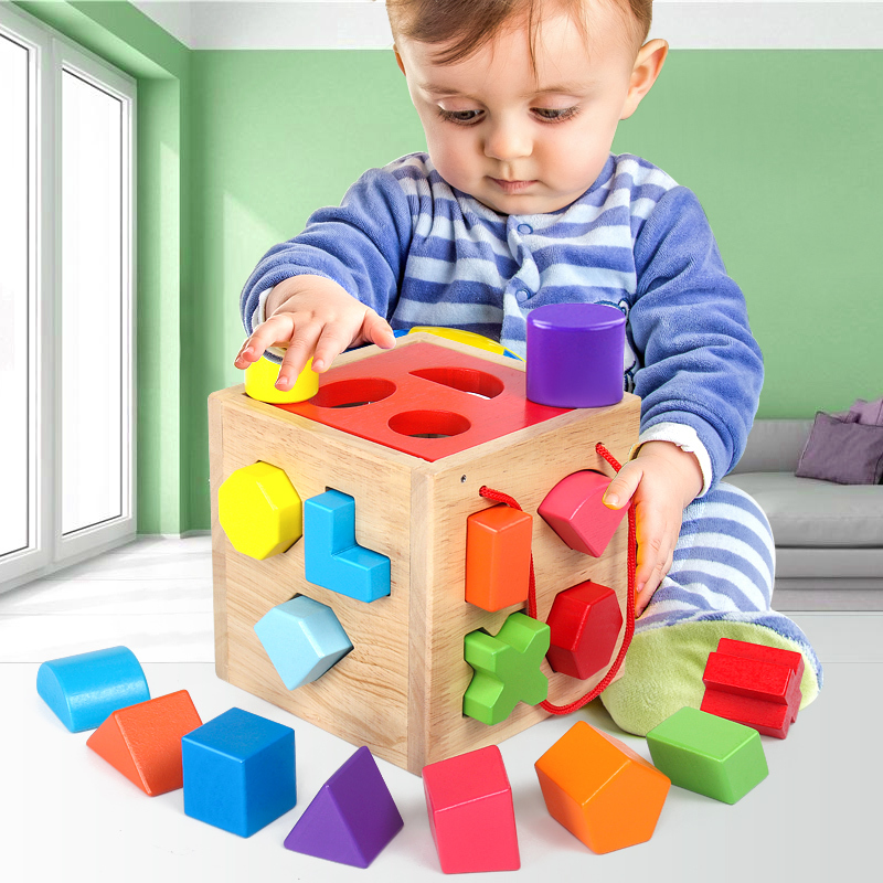 Baby Toys 0-1-2 Years Virgin Boy Child Girl Benefit Intellectual Development Initiation Early Education Can Gnaw