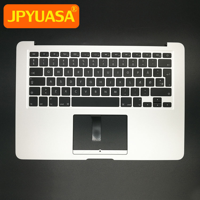 New DK Denmark Top Case Topcase Palmrest with keyboard+Backlight For MacBook Air 13.3 A1466 2013 2014 2015 Years new for macbook air 13 topcase upper top case palmrest with tr turkey keyboard a1466 2013 2014 2015