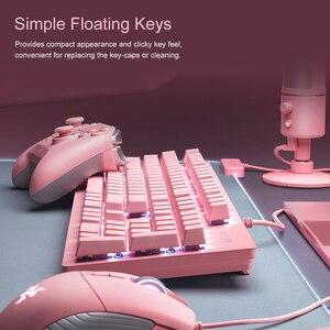 Image 5 - Razer teclado mecânico de caça, teclado gamer opto interruptor mecânico 104 teclas rgb backlight teclado com fio para computador/notebook