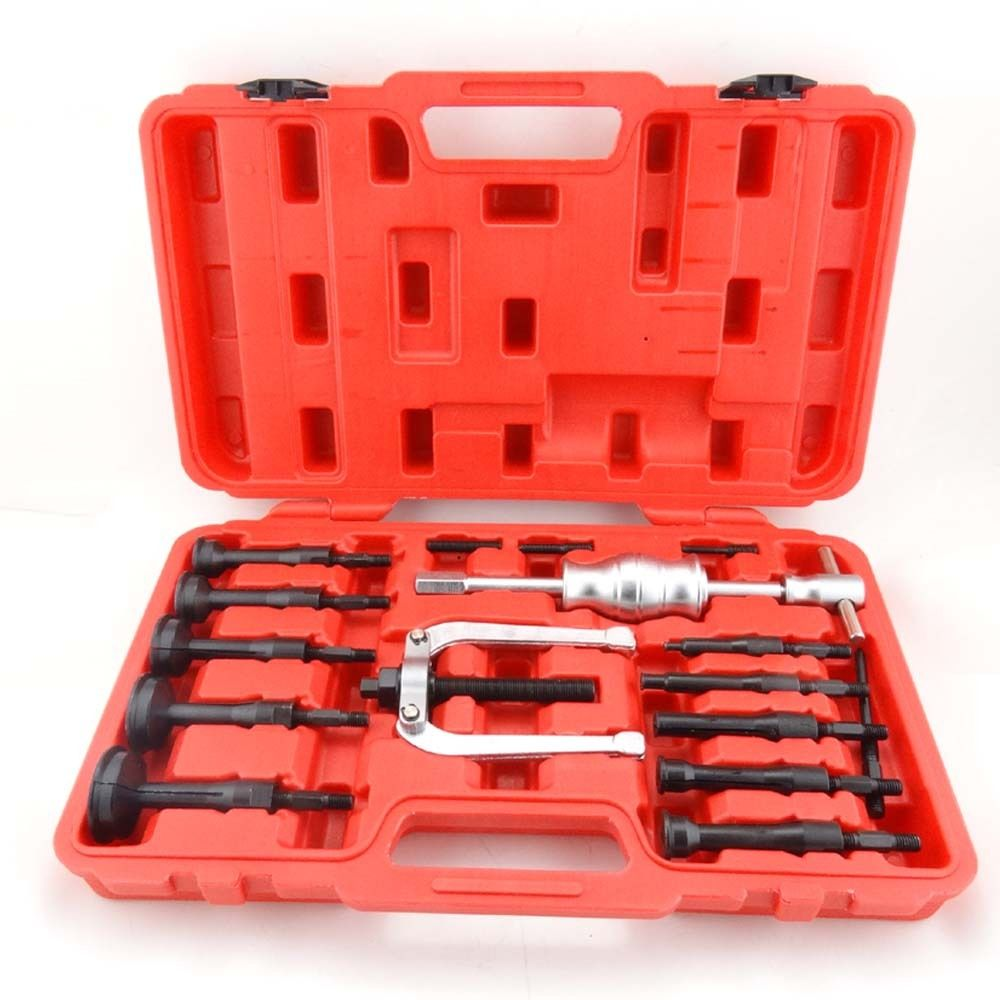 16PC Blind Hole Pilot Bearing Puller Internal Extractor Removal Slide Hammer Set 16pc x 100