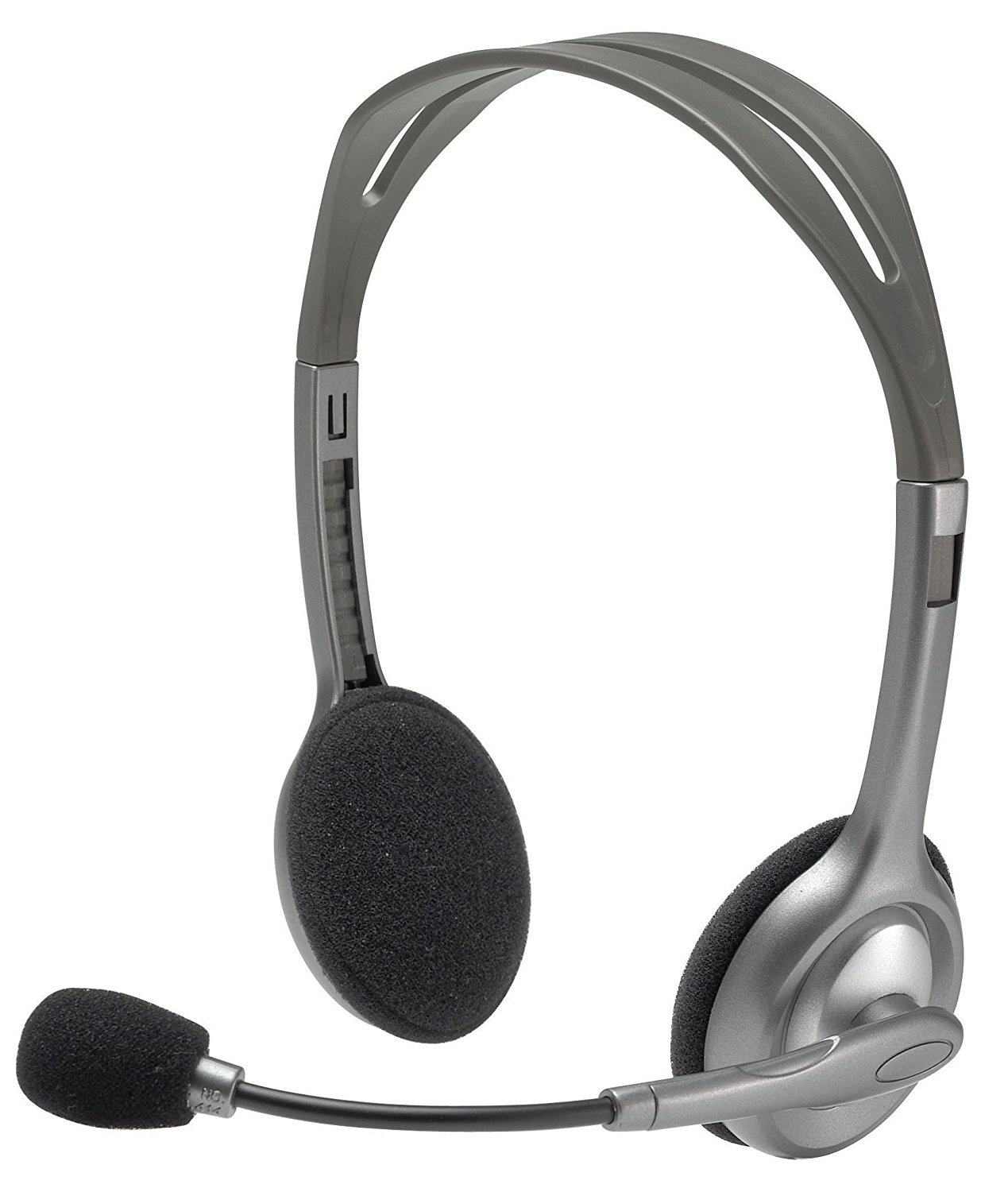 Logitech H110 Stereo Headset, Grey, Stereo, USB Headset for Windows and for Mac|Headphone/Headset| - AliExpress