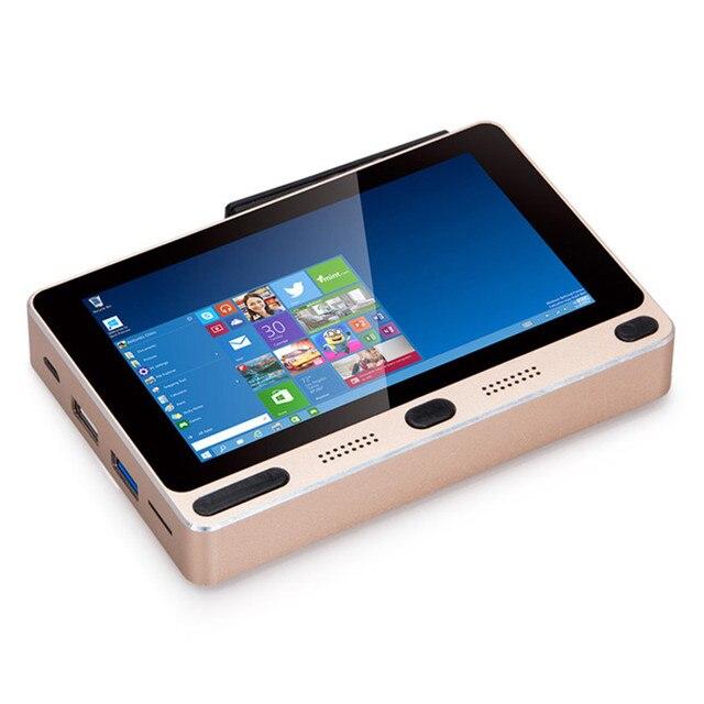 GOLE1 $ number pulgadas TV box 720 1280 Windows10 y Android5.1 Intel Cherrytrail Z8300 quad core 4G + 32G/64G mini PC USB3.0 WIFI de banda Dual