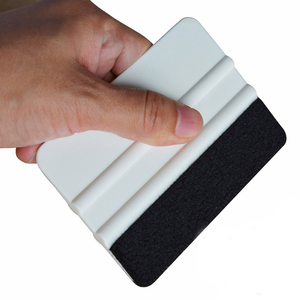 FOSHIO виниловая оберточная ракель для окна инструменты для окрашивания ткани войлочная пленка для автомобиля скребок наклейка на автомобиль...