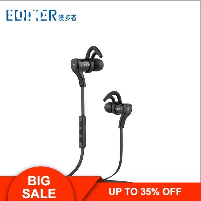 Genuine EDIFIER W288BT Bluetooth 4.0 earphone Workout Sport In-ear Earphone Waterproof and sweat Stereo HeadsetGenuine EDIFIER W288BT Bluetooth 4.0 earphone Workout Sport In-ear Earphone Waterproof and sweat Stereo Headset
