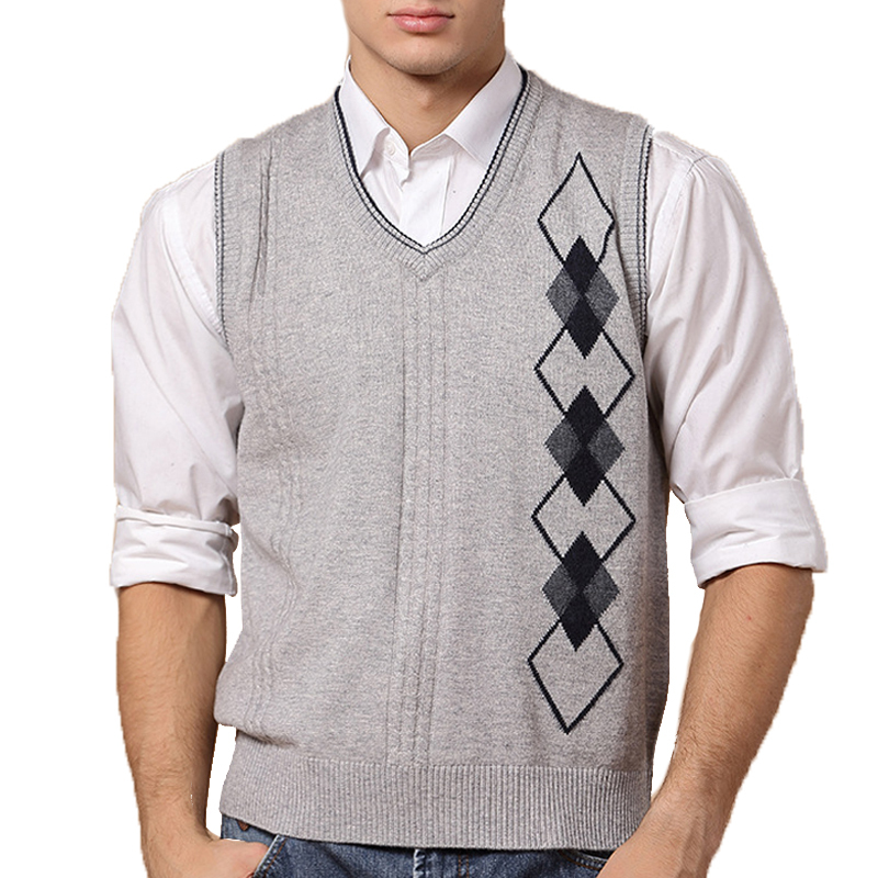 2017 new arrival wool sweaters mens vest cashmere brand. Black Bedroom Furniture Sets. Home Design Ideas