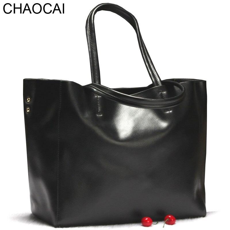 แฟชั่นผู้หญิงกระเป๋าสะพายกระเป๋าหนังแท้ขนาดใหญ่totesหญิงสบายๆคลัทช์เลดี้Sacthelกระเป๋าสี-ใน กระเป๋าสะพายไหล่ จาก สัมภาระและกระเป๋า บน   1