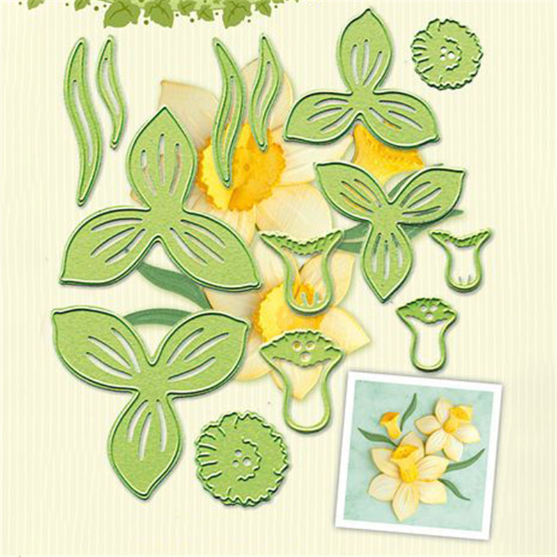YaMinSanNiO Flower Dies Metal Cutting Dies New For Scrapbooking Card Making Paper Embossing Cuts Stencil Craft Frame Dies
