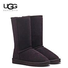 dc946b75c 2019 угги, 5815 оригинальные угги, женские сапоги, Классическая теплая  обувь из натуральной кожи на меху, женские угги, женские .