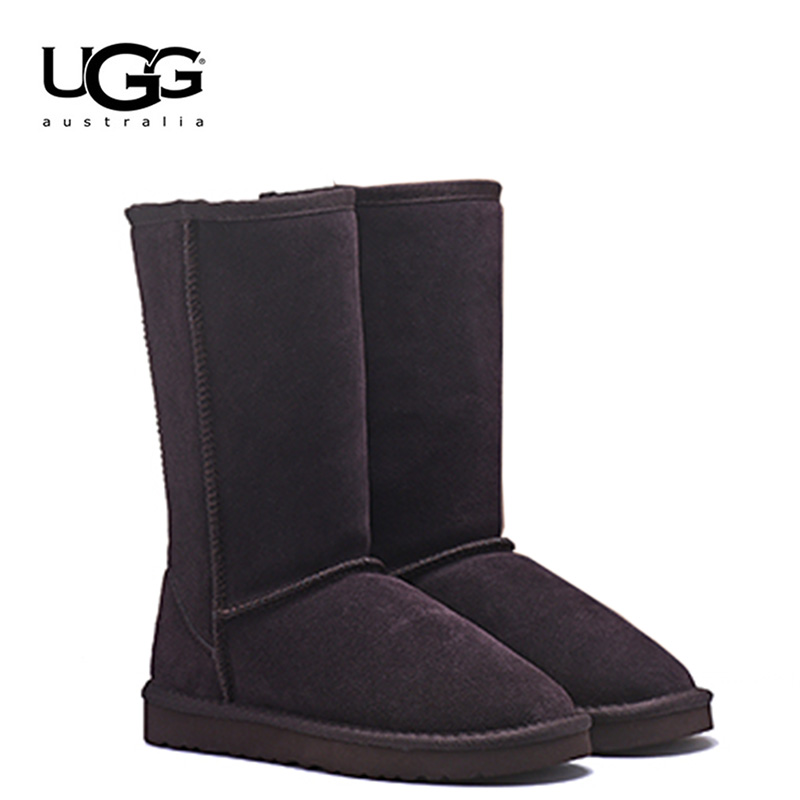 2019 UGG Bottes 5815 D'origine Ugged Femmes Bottes cuir véritable Fourrure chaussures chaudes Femmes Uggings Australie Bottes Femmes