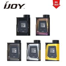 Hot Sell Original IJOY CAPO 100 Box MOD max 100W output fit 18650 21700 20700 Battery