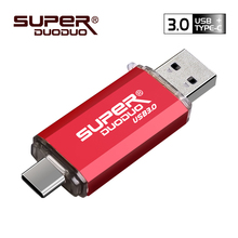 Colorful USB 3.0 Type-C metal usb flash drive pendrive 16GB 32GB 64GB 128GB key usb stick pen drive flash usb3.0 for TypeC phone