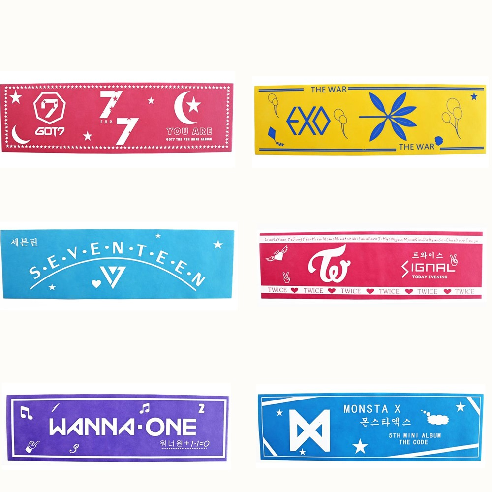Hot Sale Kpop Twice Wanna One Seventeen Got Waterproof Paper Flag Hd Poster Hang Up Photo Flags With 2m String Star Collection Home Decor More Discounts Surprises Jewelry & Accessories