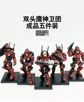 (5 pz/lotto) GIOIA GIOCATTOLO 1:27 generazione 2rd Guardiano Corps Soldiers' articolazioni mobili assemblaggio giocattoli per i bambini