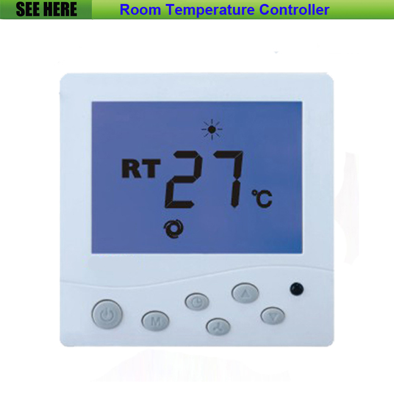 Free Shipping Specialized High Quality Floor Heating / Water Heating System LCD Display Room Thermostat hy02tp 16a thermostat socket for room electric floor heating system lcd display digital room plug in thermostat