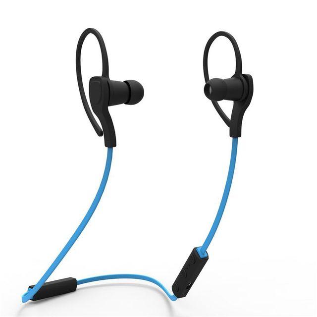 Bt-h06 auriculares bluetooth y auriculares estéreo de auriculares inalámbricos deporte moda earhook auricular con el mic para el iphone samsung xiaomi