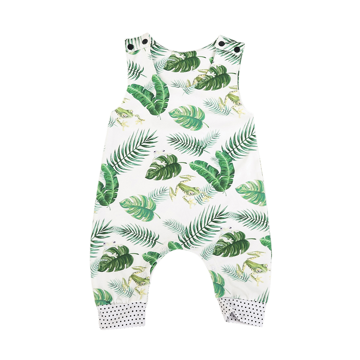 Newborn Baby Boy Girl Frog Romper Summer Sleeveless Cotton Boys Girls Clothing Rompers Cute Jumpsuit Outfits Sunsuit Clothes newborn infant baby girls boys rompers long sleeve cotton casual romper jumpsuit baby boy girl outfit costume