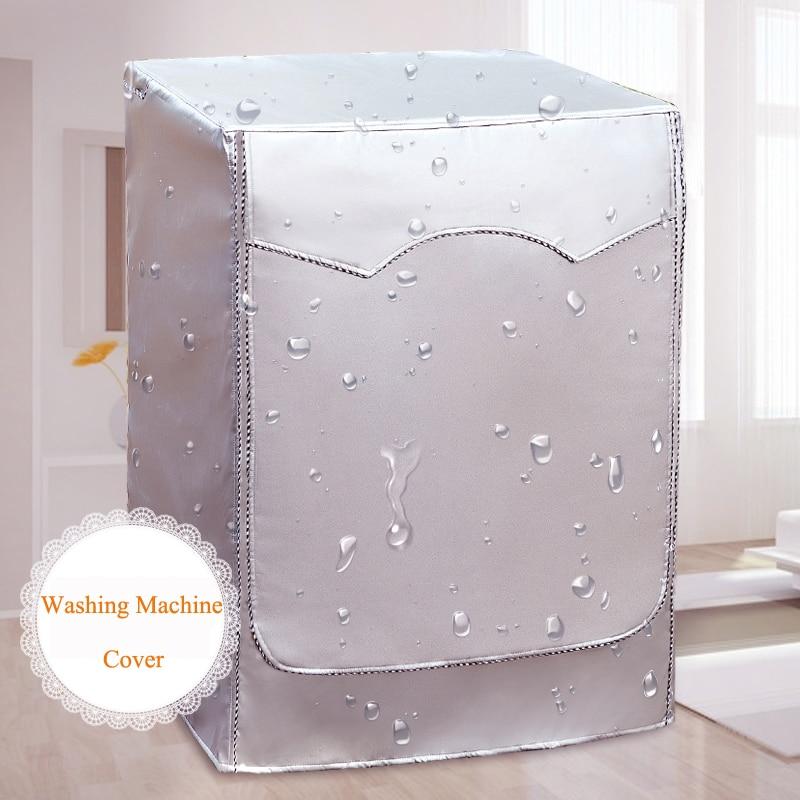 Automático turbina rodillo cubierta lavadora protector solar a prueba impermeable caso cubierta Anti-polvo productos para el hogar