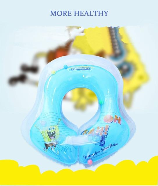 U-shape Baby Swimming Pool Blue Pink Fun Inflatable Pool Underarm Swimming Float Baby Swim Ring Swimming Baby Trainer